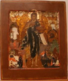 0308 John ;The Angel of the Desert and and Scenes; Russian; 31x26 x2.5;     £ 750