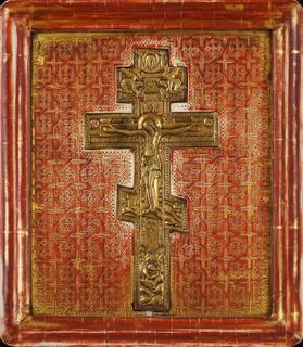 0619 Stavroteka; Russian; 19th cent.; 35.6x32.3x4;      £ 1200