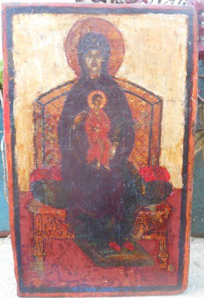 0751 Virgin Enthroned
